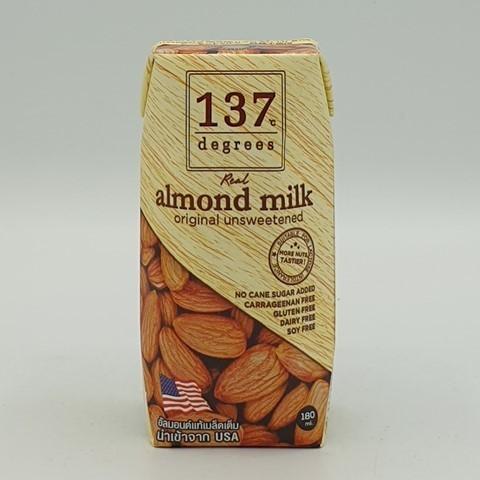Миндальное молоко без сахара 137 degrees