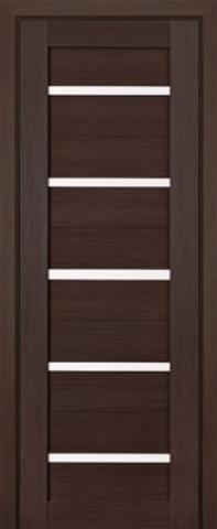 > Экошпон Profil Doors №7X-Модерн, стекло матовое, цвет грей мелинга, остекленная