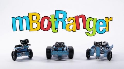 Makeblock mBot Ranger — робототехнический STEM-конструктор —  мБот Рейнджер