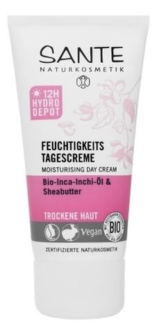 Увлажняющий дневной крем для сухой кожи с маслами Инка-Инчи и Карите 50 мл (SANTE)