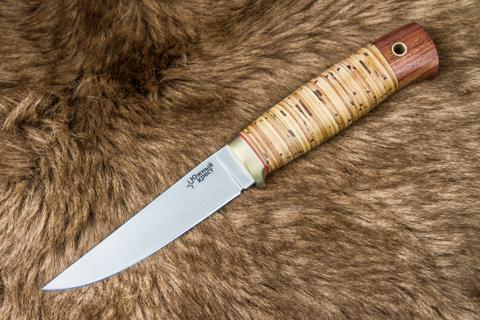 Туристический нож Удобный 440С Береста