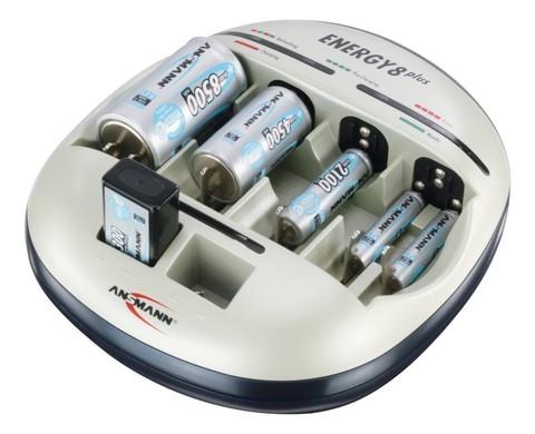 Быстрое Зарядное устройство ANSMANN Energy8 (АА,ААА,С,D, Е крона)