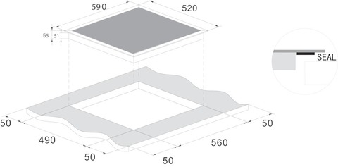 Варочная панель CANDY CIS642MCTT