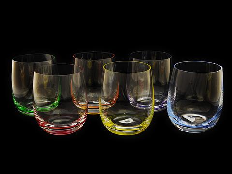 Набор стаканов для виски «Rainbow»