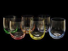 Набор цветных стаканов для виски «Rainbow»