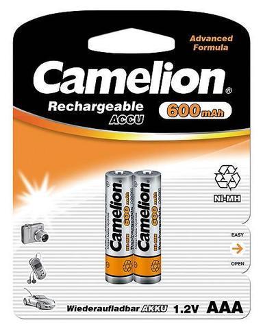 Аккумуляторы CAMELION R 03/2bl 600 mAh Ni-MH