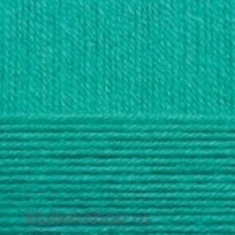 Пряжа КРОССБРЕД БРАЗИЛИИ 581 Светлый изумруд (Пехорка) - купить в интернет-магазине недорого klubokshop.ru