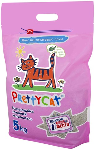 PRETTY CAT EURO MIX WITH AROMA OF ALOE
