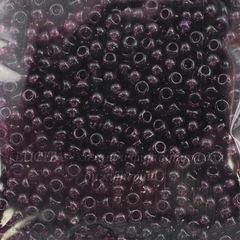 20060 Бисер 8/0 Preciosa прозрачный сливовый