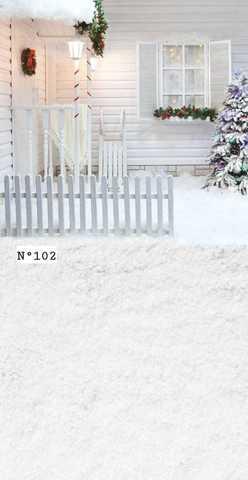 Фотофон виниловый «Зимяя сказка» №102