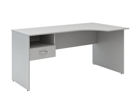SE-1600(L/R).SC-1V Стол угловой письменный с подвесной тумбой (1600х600х760)