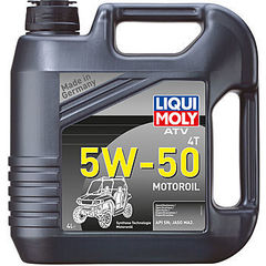 20738 LiquiMoly НС-синт. мот.масло д/4-т.мотоц. ATV 4T Motoroil 5W-50 SN MA2 (4л)