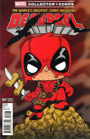 The World's Greatest Comic Magazine! Deadpool #001