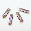 6465 Подвеска Сваровски Queen Baguette Crystal Paradise Shine (25х7 мм)