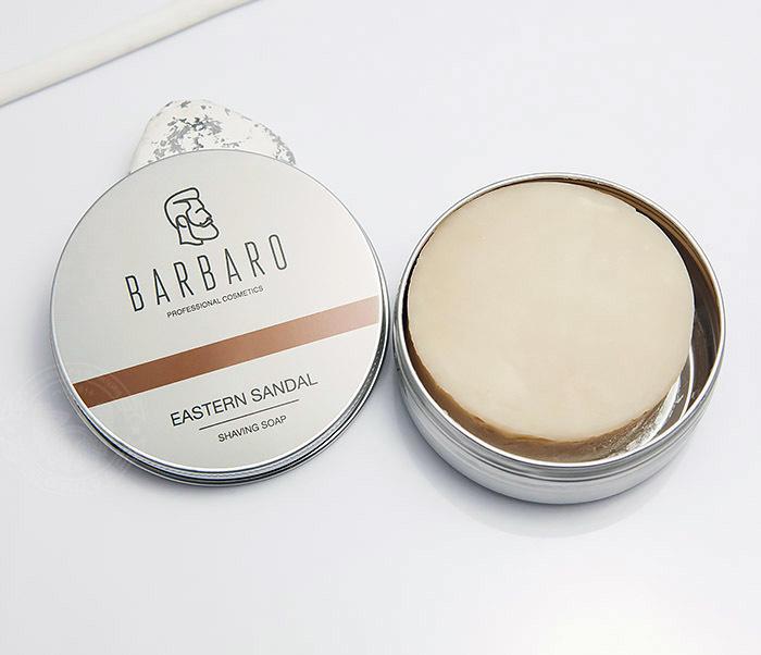 RAZ1014 Мыло для бритья Barbaro «Eastern sandal», 80 гр