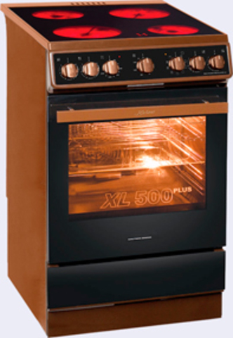 Электрическая плита шириной 50 см Kaiser HC 52010 B Moire