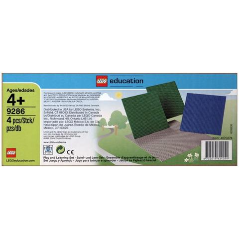 LEGO Education: Большие строительные платы 9286 — Building Plates Set — Лего Образование
