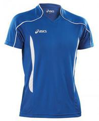 Футболка Asics T-Shirt Volo Blue мужская Распродажа