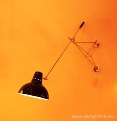 Настенный светильник DIANA black by Delightfull