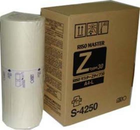 Мастер-пленка для ризографа RISO RZ - А4 RISO Kagaku RZ (S-4250)