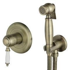 Гигиенический душ с прогрессивным смесителем Lemark Villa LM4819B фото