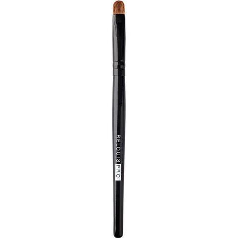 RELOUIS Кисть1559 косметическая плоская для теней (натуральный ворс)