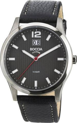 Купить Мужские наручные часы Boccia Titanium 3580-01 по доступной цене