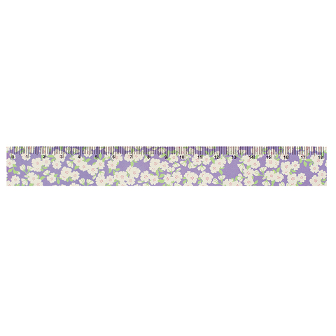 Линейка Flowers on purple