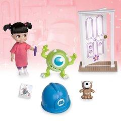 Игровой набор кукла Малышка Бу (Boo) в чемоданчике с игрушками - Корпорация Монстров, Disney