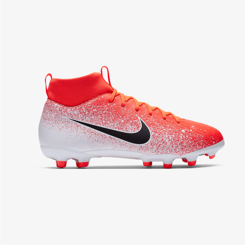 БУТСЫ ДЕТСКИЕ NIKE Jr SUPERFLY 6 ACADEMY GS FG/MG AH7337-801