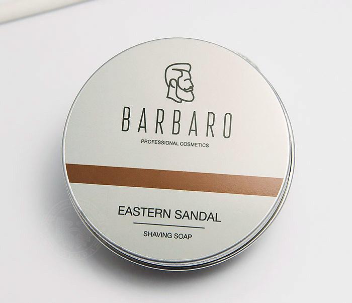 RAZ1014 Мыло для бритья Barbaro «Eastern sandal», 80 гр фото 02