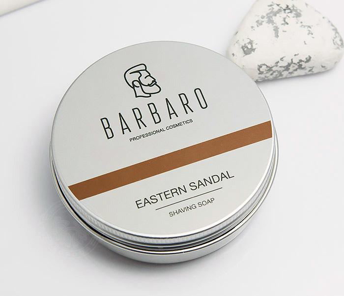 RAZ1014 Мыло для бритья Barbaro «Eastern sandal», 80 гр фото 03