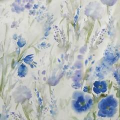 Элитный пододеяльник Avignon синий от Elegante