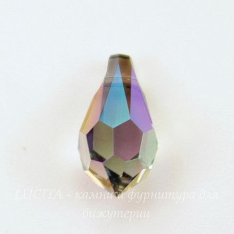 6000 Подвеска Сваровски Drop Crystal Paradise Shine (11х5,5мм)