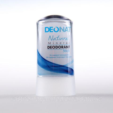Deonat, Дезодорант Кристал чистый (голубой футляр, БЕСЦВЕТНЫЙ стик), 60гр
