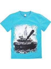 BK003-28 футболка детская, голубая