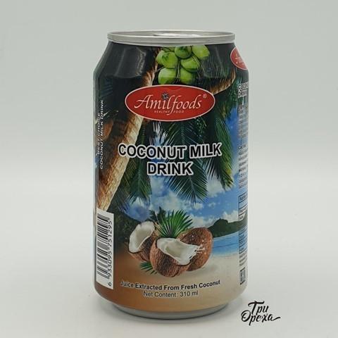 Кокосовое молоко (напиток) AMILFOODS, 310 мл