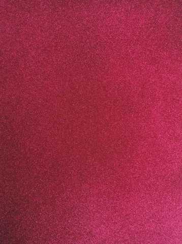 Глитерный фоамиран 2мм 50*50см. цвет малиновый