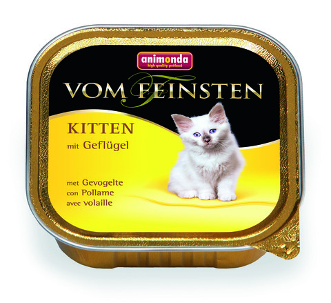 Консервы Animonda Vom Feinsten Kitten с домашней птицей для котят