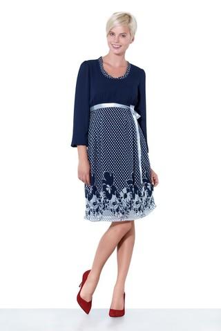 Платье 05570 синий