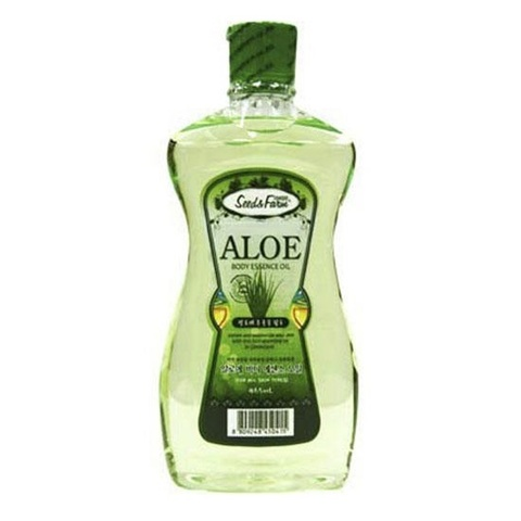 White Cospharm Organia Масло для тела с Алоэ Seed & Farm Aloe Body Essence Oil 465мл