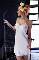 Сорочка женская натуральный шелк  MIA-MIA   Kristy КРИСТИ  15110