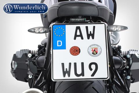 Держатель номерного знака  Stripe Spor BMW RnineT- черный