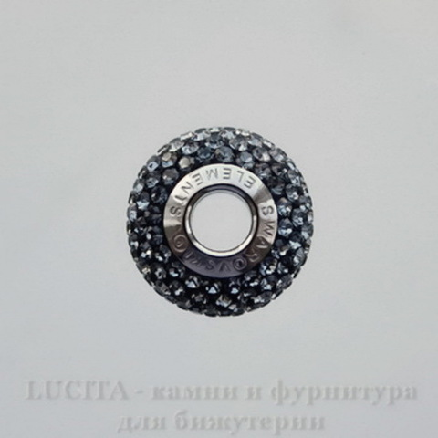 80101 Бусина Сваровски BeCharmed Pave Crystal Silver Night 14х9 мм (large_import_files_63_63deadb7d8b311e2a090001e676f3543_1663452042194bc5b964b2809f752b7f)