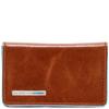 Чехол для визитных карт Piquadro Blue Square оранжевый телячья кожа (PP1263B2/AR) цена и фото
