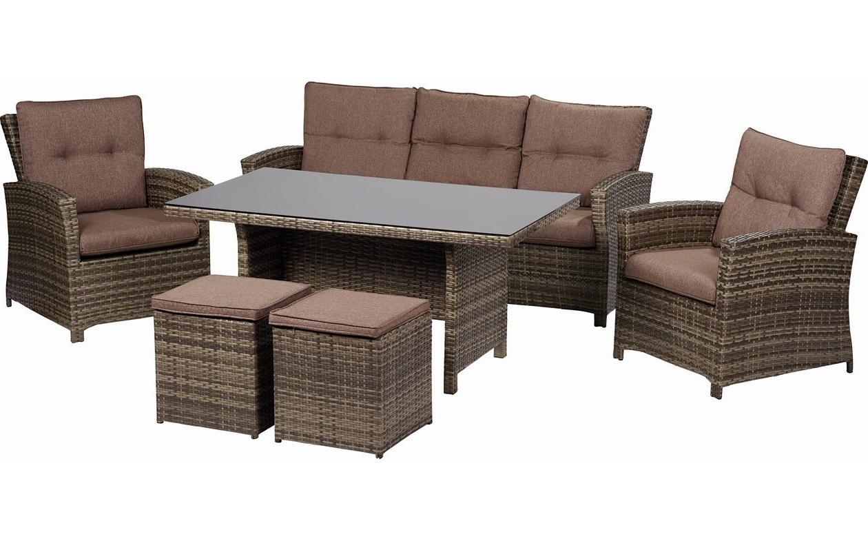 купить комплект мебели из искусственного ротанга пьемонт в