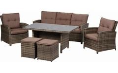Комплект мебели из искусственного ротанга Пьемонт