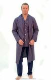 Мужской халат из хлопка B&B
