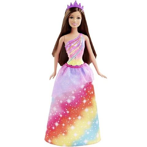 Барби Дримтопия Принцесса в Радужном Платье