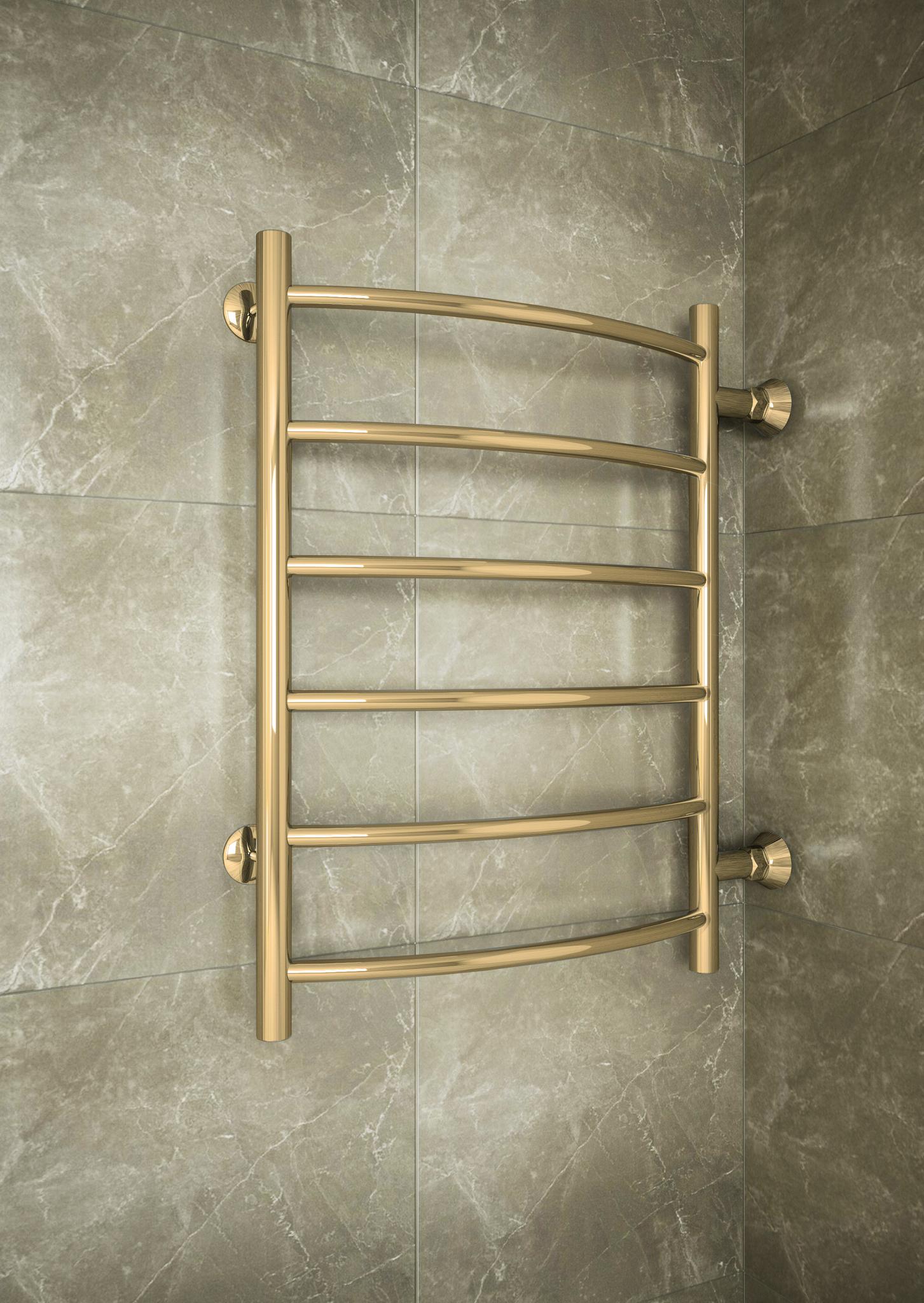 Classic Bronze - бронзовый полотенцесушитель с боковым подключением. бронза